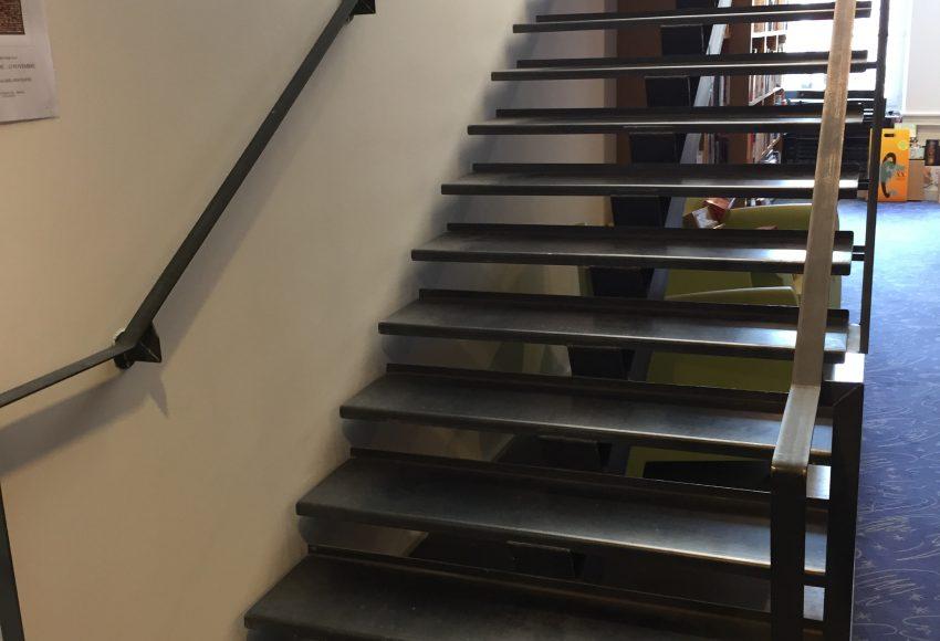 Escalier magasin chaumont 3